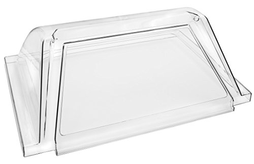 Concession Land - Clear Plexiglass Hot Dog Roller Grill Cover, Each