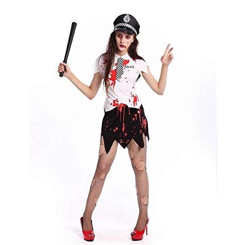 KAIDILA Traje Halloween Vampiro Blanco Zombie