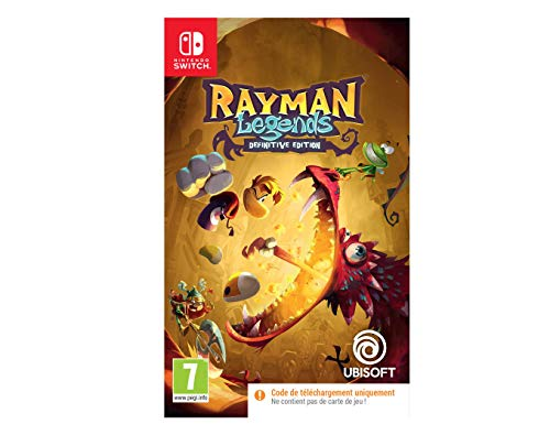 Rayman Legends Definitive Edition Code In Box (Nintendo Switch)