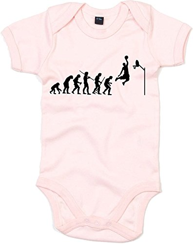 Evolution of, Sports Basketball Jordan Inspirert Impression grenouillère pour bébé