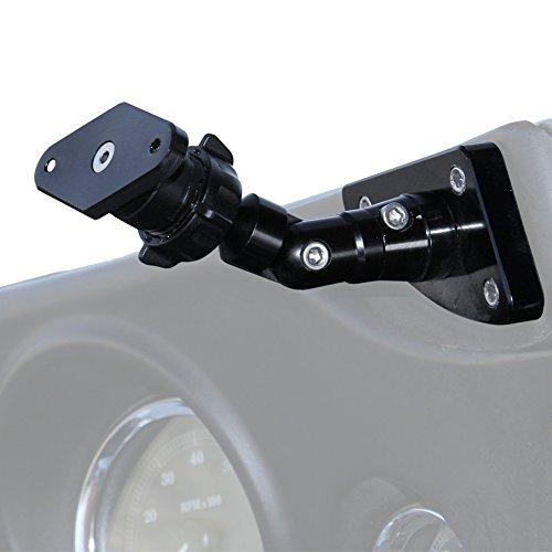 Techmount 4-21002-DIAMOND - Harley-Davidson Bat Wing Fairing Mount - Ram-Mount – Interfaces with all Ram-Mount cradles