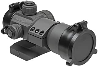 M1SURPLUS Gray Color Tactical CQB Co-Witness Capable Dot Sight with (Red, Green, Blue Color) Aiming Dot Fits Mossberg 702 Tactical 715t MVP FLEX-22 Ruger 10/22 Mini4 Mini30 SR22 Rifles