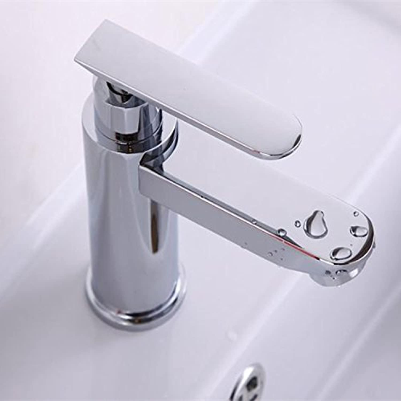 MDRW-Bathroom Accessories Basin Faucet Bathroom Vanity Basin Mixer Click Cold Tap And Full Copper Lead-Basin Mixer