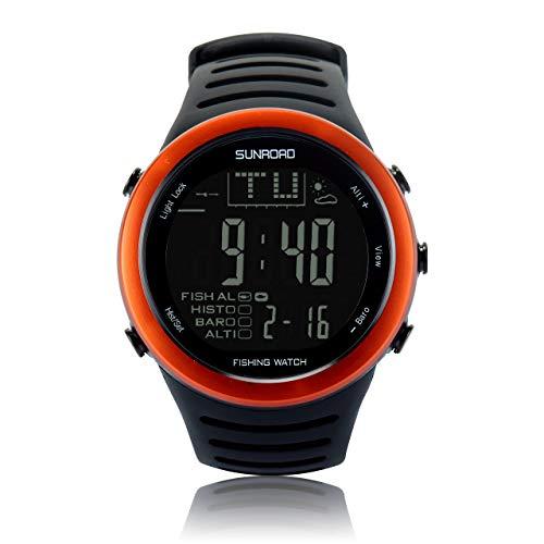 Reloj de pesca digital para hombre Sunroad FR720