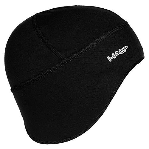 Halo Headband Anti-Freeze Skull Cap, Black