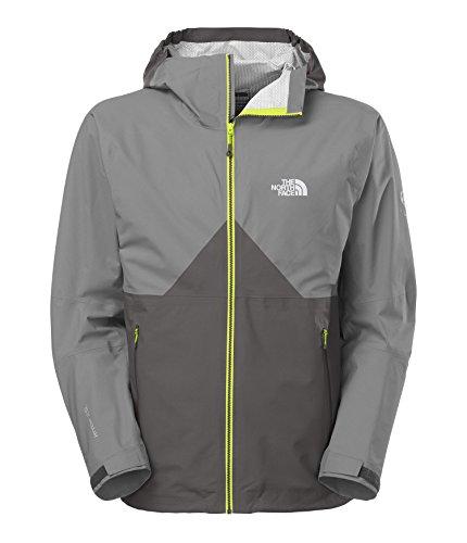 The North Face Fuseform Originator Jacket Black Ink Green Vaporous Grey