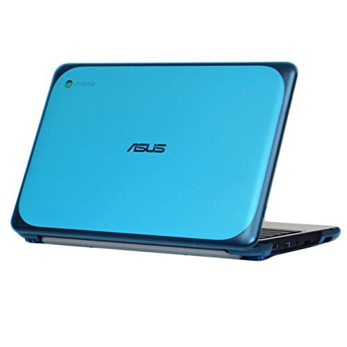 iPearl mCover Hard Shell Case for 11.6' ASUS Chromebook C202SA Series Laptop - Aqua