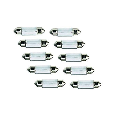 10x Kummert Business Glühlampe Halogen C5W Soffitte 36mm 5W 12V PKW Innenraum, Kennzeichenbeleuchtung