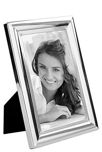 Fink Fotorahmen Leon - versilbert zum Stellen und Hängen Format 13x18 cm