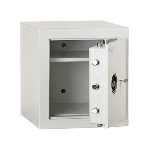 Maletín Caja Fuerte DI200, Grado 1, EN 1143–1, hxbxt 436x 401x 428mm, Cerradura electrónica, luz Gris