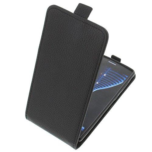 foto-kontor Tasche für TP-Link Neffos C5 Smartphone Flipstyle Schutz Hülle schwarz