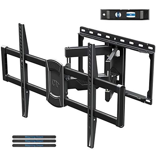 Mounting Dream TV Halterung, Schwenkbare Neigbare TV Wandhalterung für die meisten 42-70 Zoll LED, einige bis zu 75 Zoll, LCD, OLED, Plasma TVs mit VESA 200x100-600x400mm bis zu 45,5kg