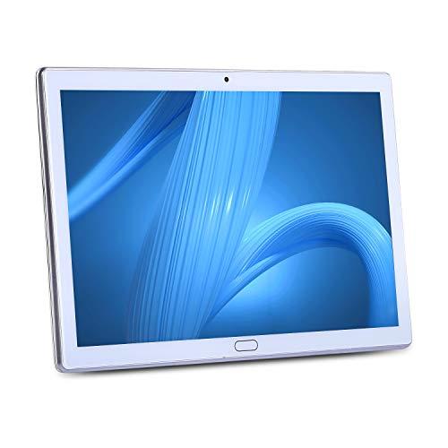 YITAOERA 10.1'' Zoll Google Android Tablet PC, Android 9.0 Phablet Tablet Quad Core 2GB RAM 32GB ROM, Dual Kamera, 2.4 WiFi, Bluetooth, GPS,1280x800 HD IPS Display, Google Play (Weiß)