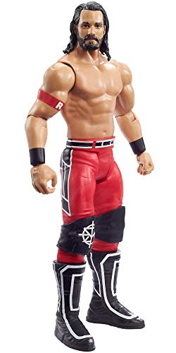 WWE MATTEL Seth Rollins Action Figure, Posable 6-in/15.24-cm Collectible for Ages 6 Years Old & Up