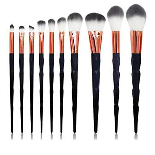 SKYyao Mesdames Pinceau De Maquillage 10 Pcs Fondation Sourcils Eyeliner Fard à Joues CosméTiques Brosses Correcteur Maquillage Pinceau