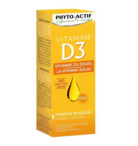 PHYTO ACTIF - Vitamine D3 15 ml