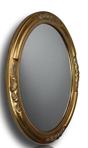 Espejo de Pared antiguo, Color: Dorado