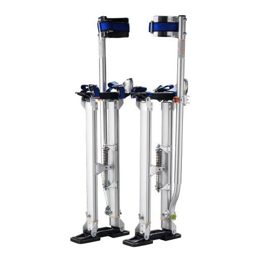 1115 Pentagon Tool Professional 18'-30' Silver Drywall Stilts Highest...