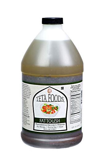 Teta Foods Mediterranean Fattoush Salad Dressing 64 FZ