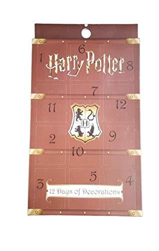 Paquete de 12 días de decoración con Licencia de Primark de Harry Potter