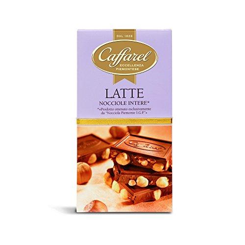 Caffarel Cioccolato Al Latte Con Nocciole / Milchschokolade mit Piemont-Haselnuessen (8x150g) 1200 g