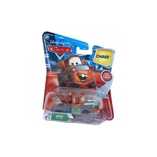 Disney Pixar Cars Chase Mater / Martin with Hood 134 - Véhicule Miniature - Voiture