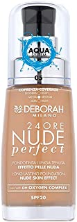 Deborah Milano 24Ore Nude Perfect Foundation, 05 Amber