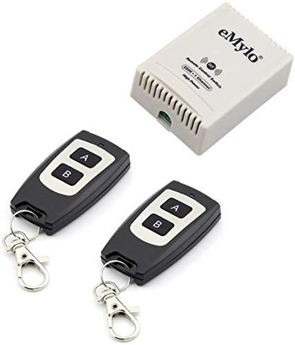 AC 220V-230V-240V 3000W 30 Un canal 1433 MHz RF sin aprender relé alambre etapa emisor del receptor permanente contactor