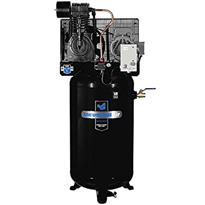 Industrial Air IV7518075 Vertical 80 gallon Two Stage Cast Iron Industrial Air Compressor from MAT Holdings, Inc.