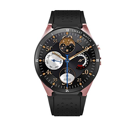 Android 7.0 Smart horloge 1 GB + 16GB Bluetooth 4.0 WIFI 3G Smartwatch Mannen Horloge Maps Ondersteuning Google Store Voice