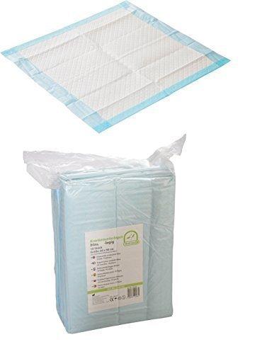 Krankenunterlagen 100 Stück in Folie verpackt Tierunterlagen 6-lagig 40 x 60 cm