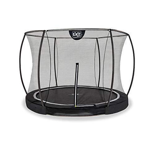 EXIT Black Edition - Cama elástica (305 cm de diámetro, con red de seguridad), color negro