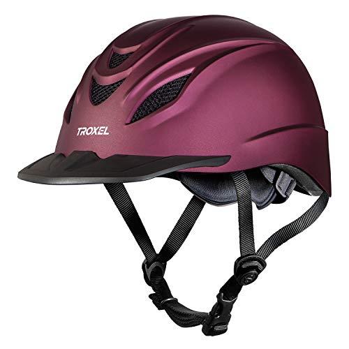Troxel Intrepid Performance Helmet, Mulberry, Medium