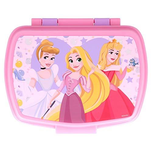 ILS I LOVE SHOPPING Boîte à goûter isotherme pour enfants (Princesse Disney)