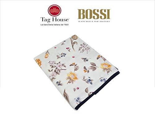 TAG HOUSE tafelkleed geplastificeerd 4-zits 120x140 BOSSI Dis, 3651 VASETTI v. 15 natuur - zonder servetten