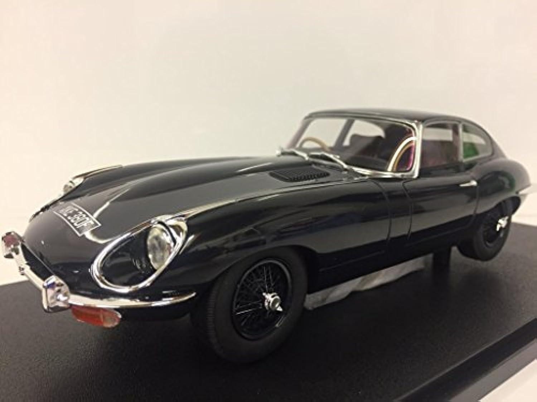 Jaguar E-Type Coupe Series 2, dunkelblau, RHD, 1968, Modellauto, Fertigmodell, Cult Scale Models 1 18