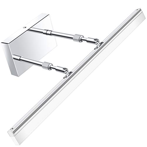 Modern LED Bathroom Vanity lights - LEDMO Adjustable 24 inch Retractable Modern Vanity Lighting 6000K