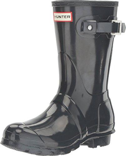 Hunter Low Wellington Boots, Botas de Agua para Mujer, Gris (Grey/dsl), 40/41 EU
