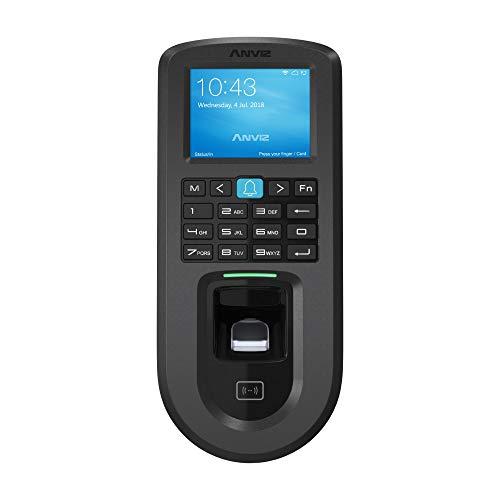 Anviz VF30 Pro controllo accessi: biometrico, card rfid e PIN, Linux ad alte prestazioni, LCD 2,4', Tcp/ip PoE e Wi-fi.