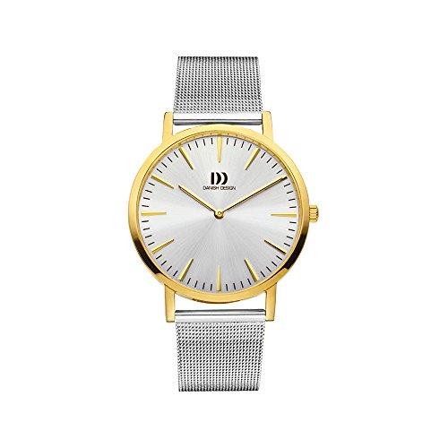Danish Design Herren Analog Quarz Uhr mit Edelstahl Armband IQ65Q1235