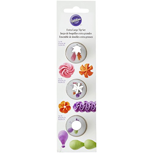 Wilton Icing Tip Set, X-Large