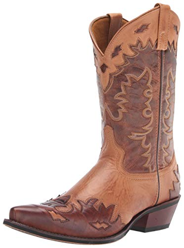 Laredo Men's Western Boot, Antique tan, 12 X-Wide