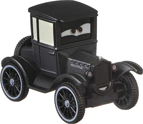 Disney and Pixar Cars Lizzie, Miniature, Collectible Racecar Automobile Toys Based on Cars Movies, for Kids Age 3 and Older