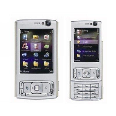Logotrans - Protector de pantalla y toallita limpiadora para Nokia N95