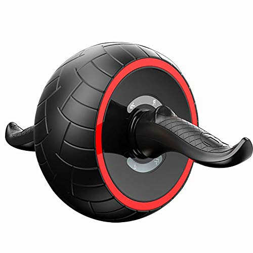 ABS Abdominal Roller Übungsrad Fitnessgeräte Mute Roller für Arme Rücken Bauch Core Trainer Body Shape Training liefert Fitness Speed Training