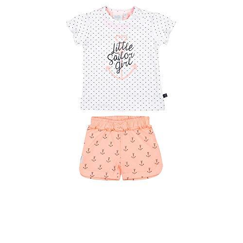 Feetje Sailor Girl'Ensemble de 2 pièces T-shirt et short pour fille - - 6 mois