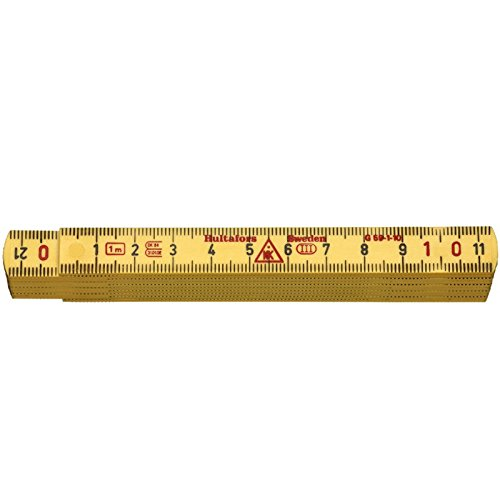 Hultafors 200304G59–1-10Metro plegable 1m amarillo