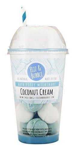 Fizz Bubble Bath Finally popular brand Coconut Cream Direct sale of manufacturer Milkshake