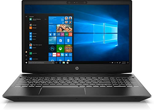 HP Pavilion Gaming 15-CX0031NL Notebook, Windows 10 Home, Processore Intel i7-8750H, RAM 16 GB, SSD da 128 GB e SATA da 1 TB, NVIDIA GeForce GTX 1050, Display 15.6  FHD IPS Antiriflesso, Nero