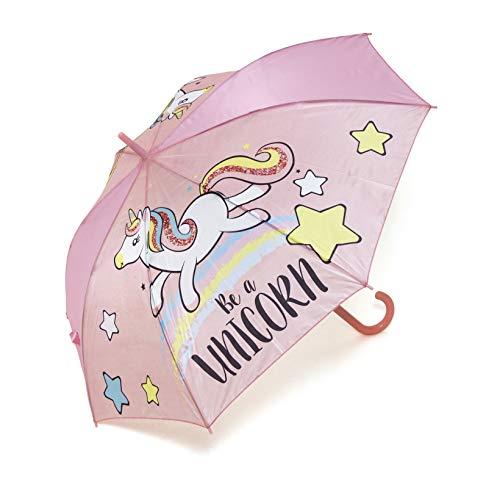Zaska Parapluie Automatique Licorne En Polyester Modele